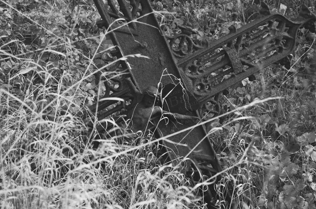 Dwa miejsca zamieszkane przez melancholię – na Warmii cmentarz w Biesowie