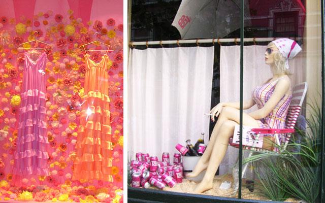 Marzua dise o de escaparates de verano - Modelos de vidrieras ...
