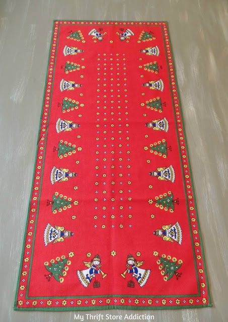 Vintage Kolf Austrian Christmas linen