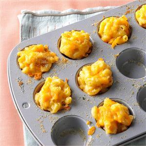 Mini Mac & Cheese Bites ~ source: tasteofhome.com
