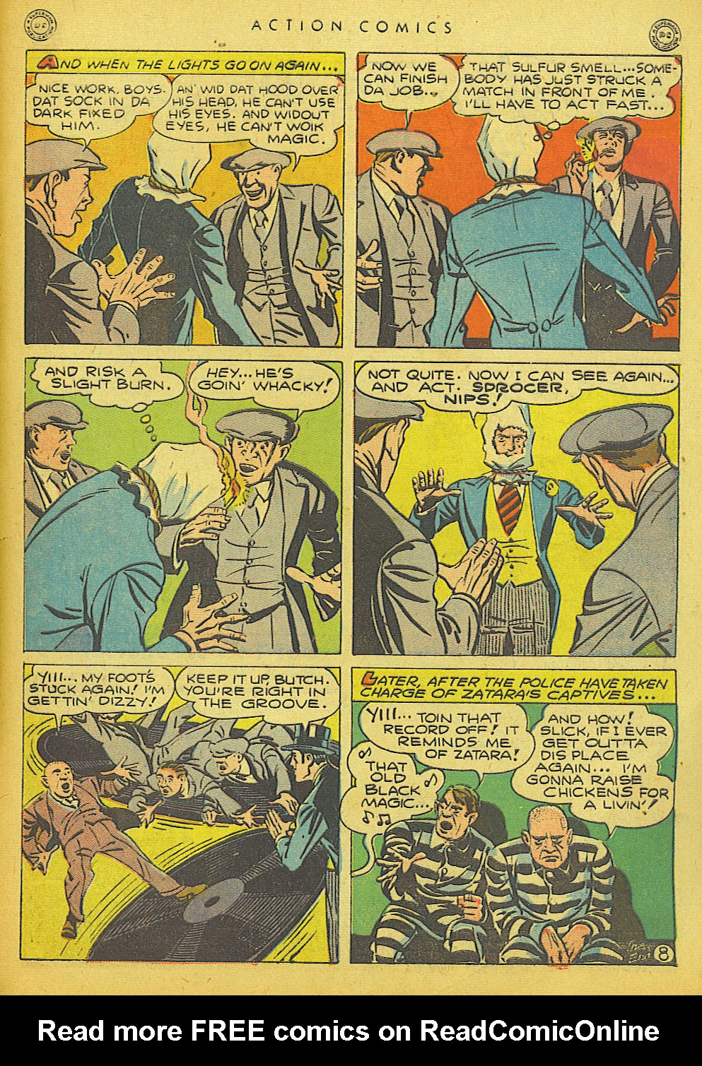 Read online Action Comics (1938) comic -  Issue #86 - 49