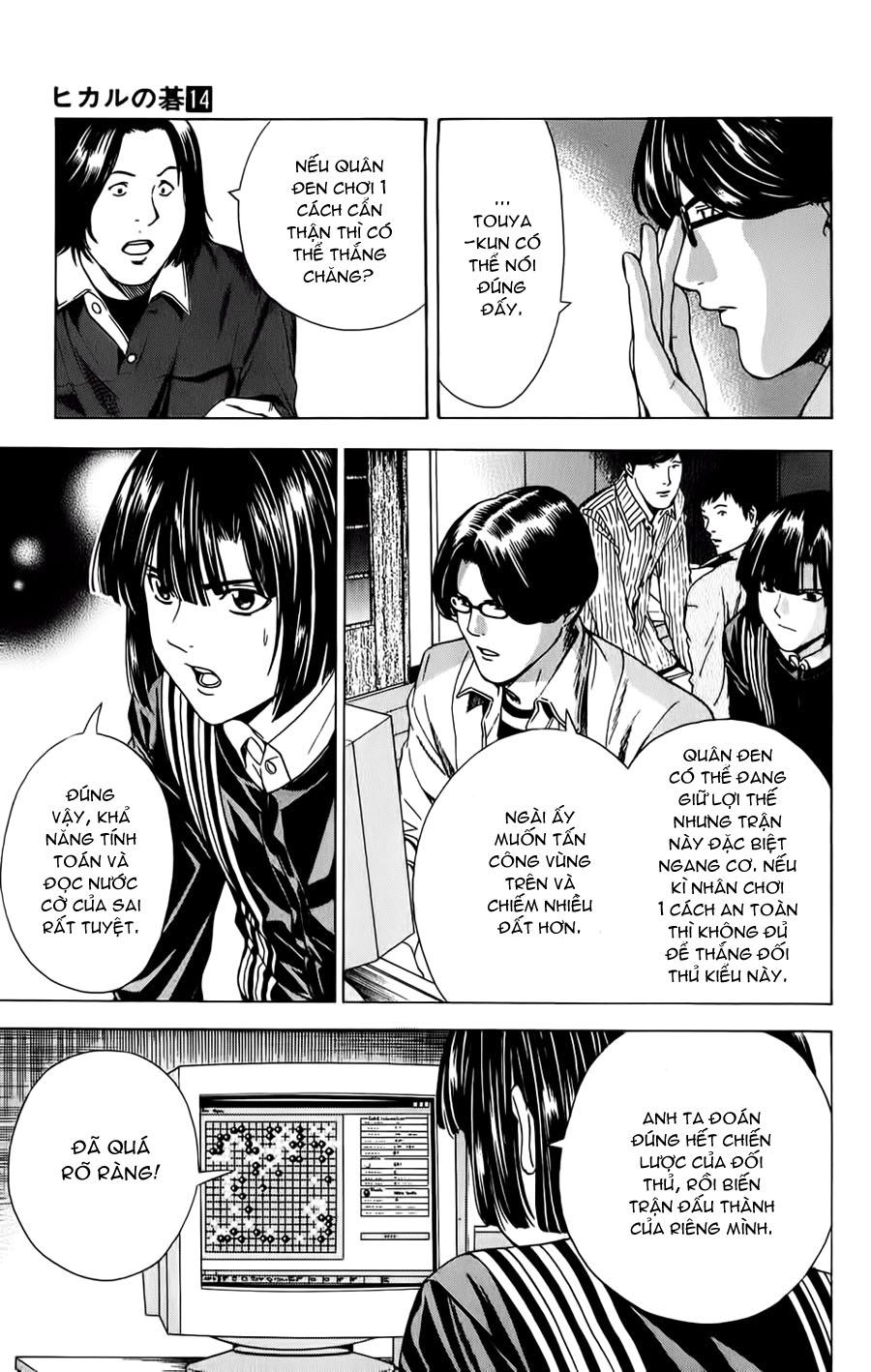 Hikaru No Go hikaru no go chap 114 trang 18