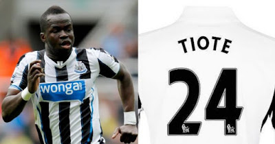 nufctiote 1024x567 - Newcastle fans start petition for the club to retire Cheick Tiote's old shirt number