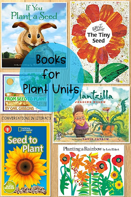 Books for your plant unit and plant activities