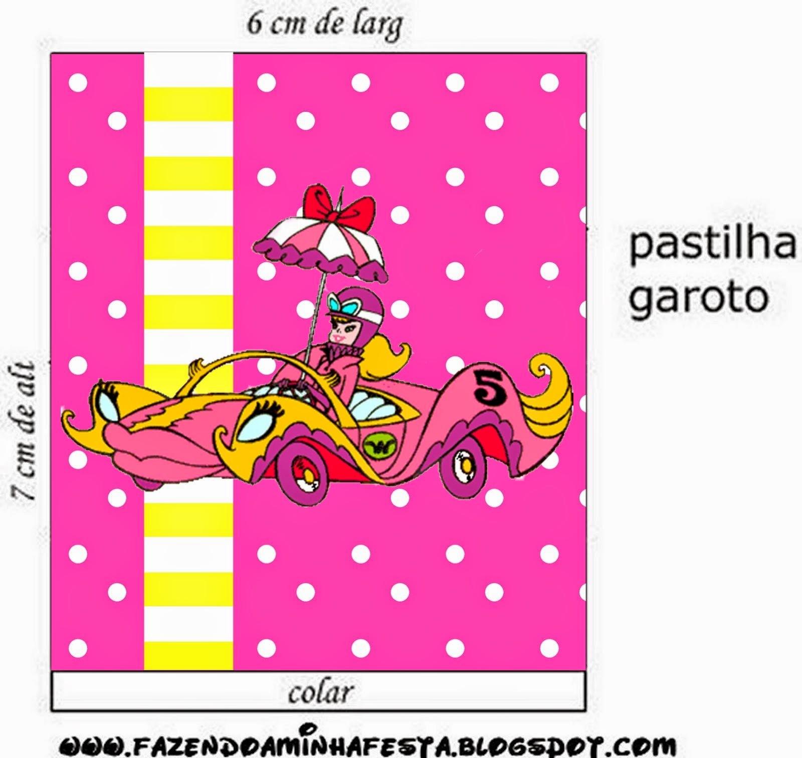 Etiquetas de Penelope Glamour Retro para imprimir gratis.