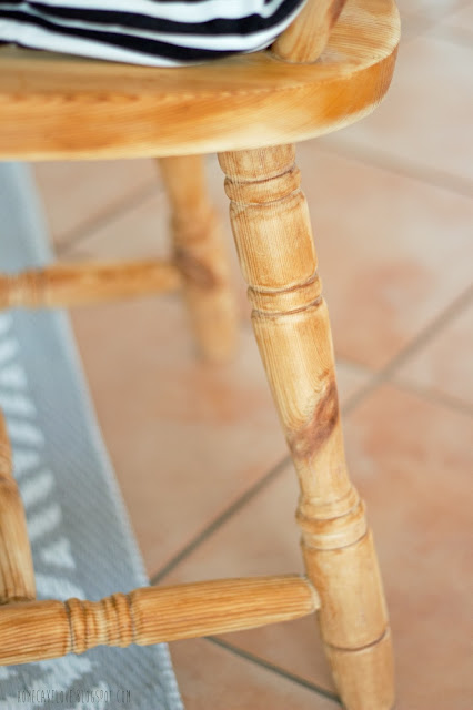 upcyling, aus alt mach neu, alt mit neu kombinieren, diy,  vintage, mix and match, alter Stuhl mit modernem kombinieren