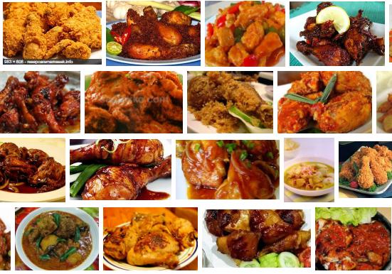 resep, ayam, resep ayam, cara, masakan ayam, makanan ayam