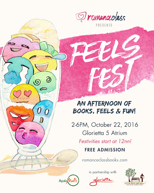 #romanceclass FeelsFest