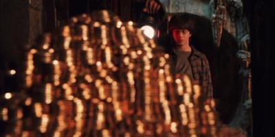 Хари Потър в Гринготс - Хари Потър и философският камък