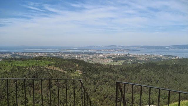 Mirador de Lobeira en Vilagarcía de Arousa