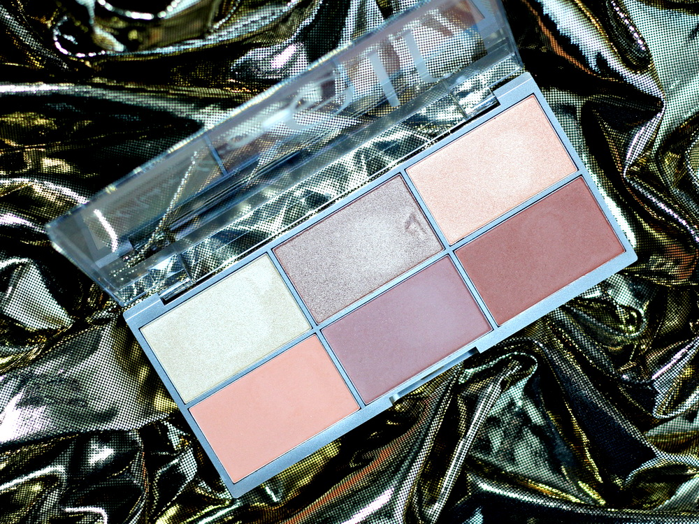 elf Modern Metals Blush and Highlighter Palette