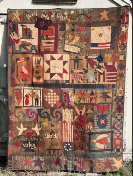 Humble Quilts: Sweet Land of Liberty Month 2 : humble quilts - Adamdwight.com