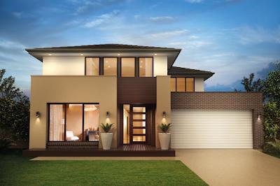 Kumpulan Bentuk Fasad Rumah Minimalis Terbaru 2016 - 010