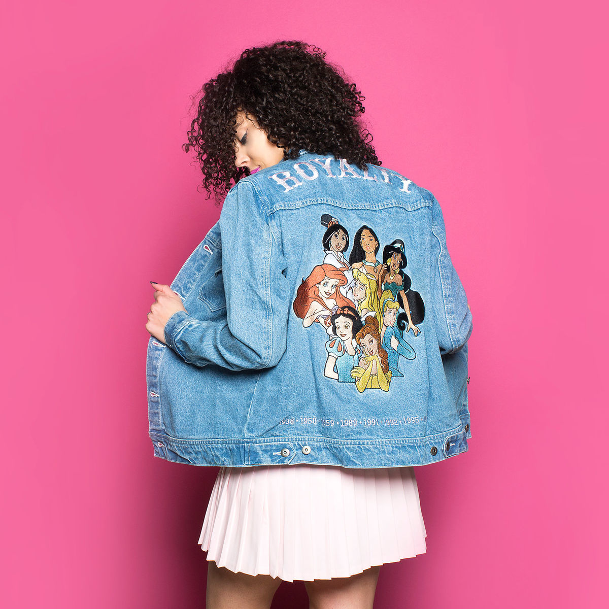 Cakeworthy Royalty Denim Jacket
