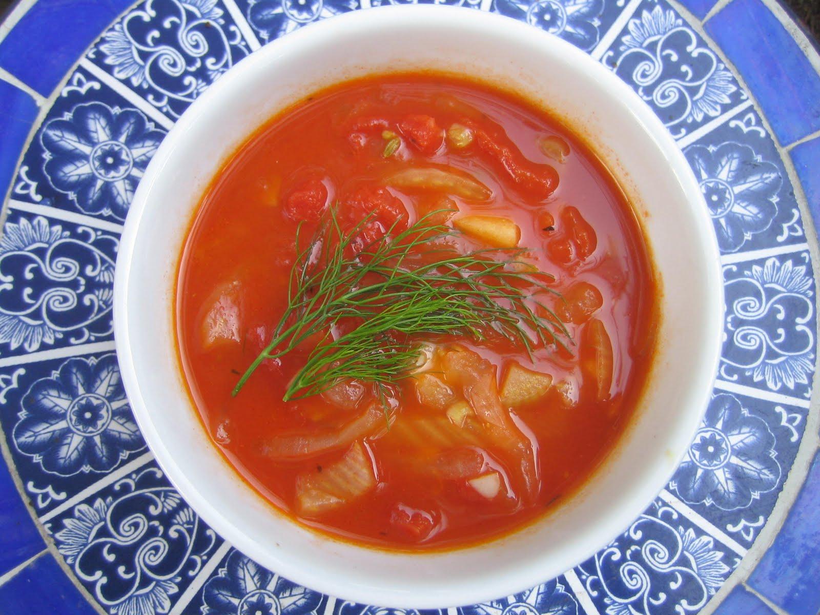 Blue Kale Road: Blueberry-Raspberry Pound Cake, Tomato Soup