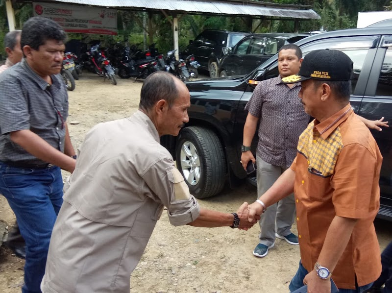 Kunjungan Kerja Bupati dan Wakil Bupati Padang Lawas Ke Pemerintah Kecamatan Seteleh Paskah Dilantik Kembali Tahun 2019