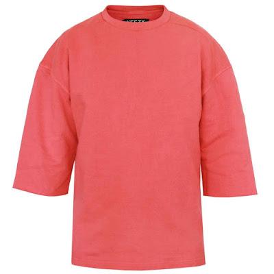 Yeezy season 1 oversized sweatshirt cranberry