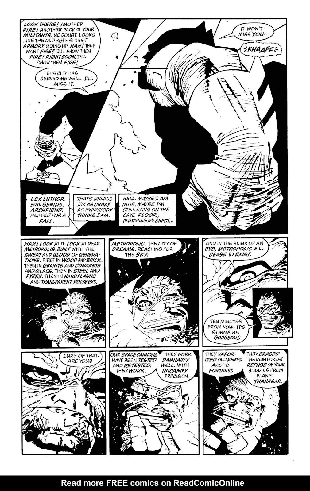 Read online Batman Noir: The Dark Knight Strikes Again comic -  Issue # TPB (Part 3) - 1