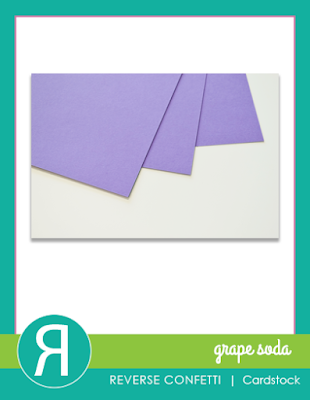 grape soda cardstock