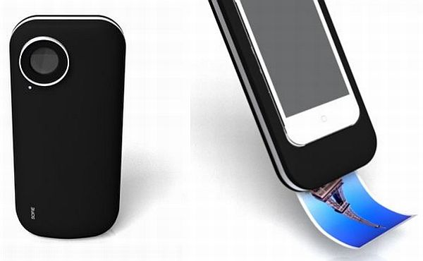polaroid camera for iphone polaroid iphone dock concept prints real photos in an 15878