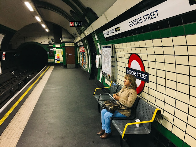グージ・ストリート駅(Goodge Street tube station)