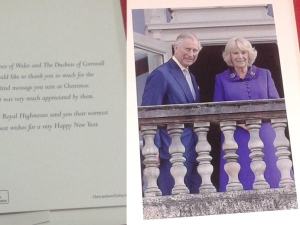 Odpowiedź od księcia Karola i Camilli!