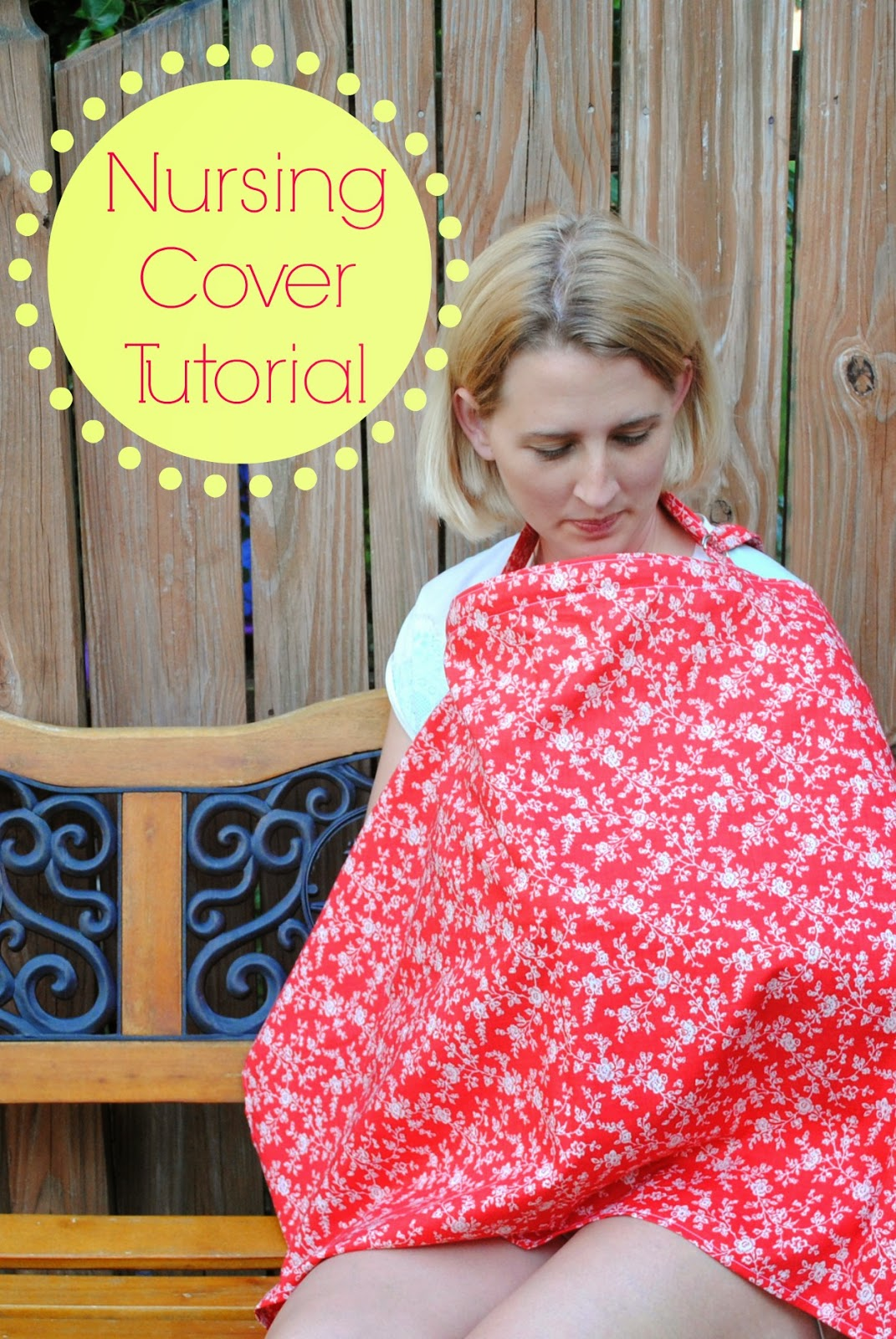 Guest Post: DIY Nursing Cover Tutorial  Nursing Cover