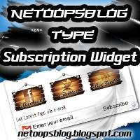 Awesome NetOopsblog Subscription Widget for blogger
