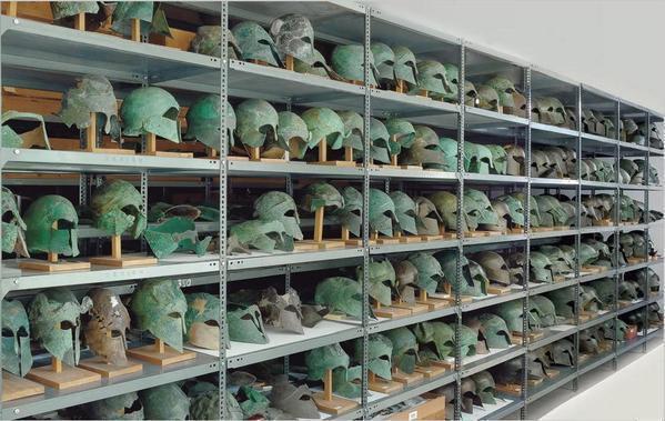Το μυστήριο με τις περικεφαλαίες στην Αρχαία Ολυμπία που εντυπωσιάζει τους επιστήμονες!
