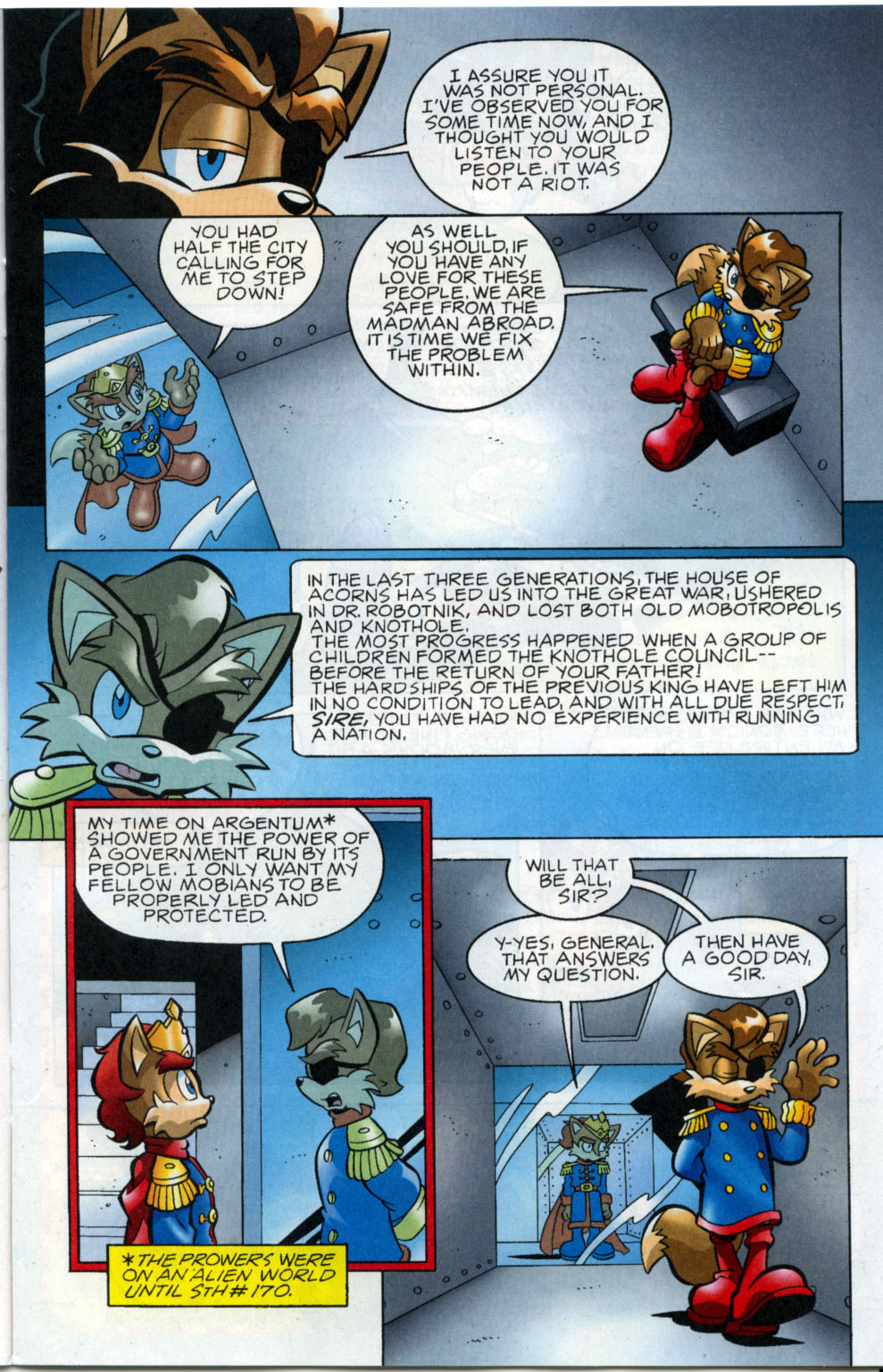 Read online Sonic The Hedgehog comic -  Issue #178 - 8