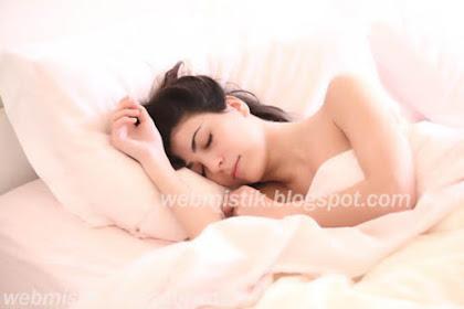 Misteri Manfaat Tidur Tidak Menggunakan Baju Atau Telanjang