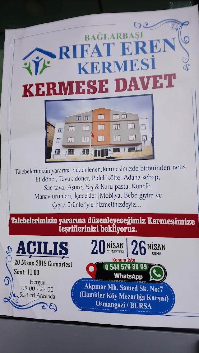 Bursa Osmangazi Rıfat Eren Kermesi