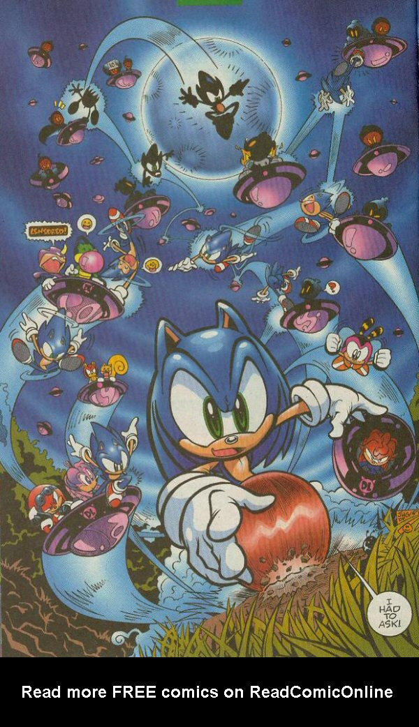 Read online Sonic The Hedgehog comic -  Issue #140 - 11