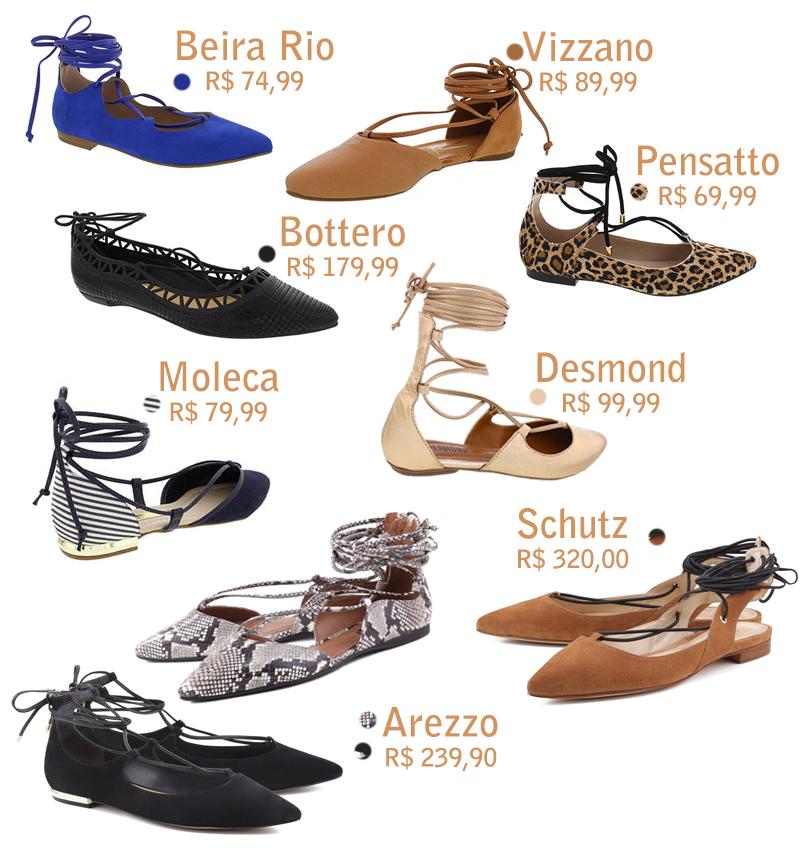Onde Comprar Sapatilhas Lace Up, Lace up Flats, Shoes, Tendência, Moda, Fashion, Estilo, Como usa