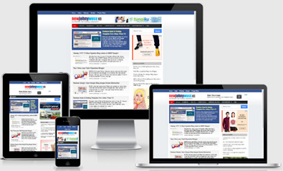 New Johny Wuss V3 SEO, Fast, and Responsive Blogger Templates