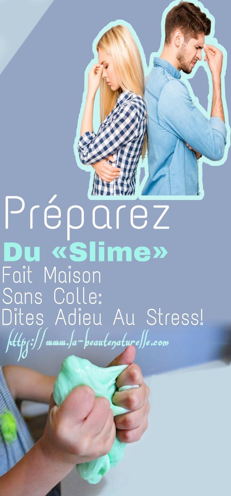 Préparez Du «Slime» Fait Maison Sans Colle: Dites Adieu Au Stress!