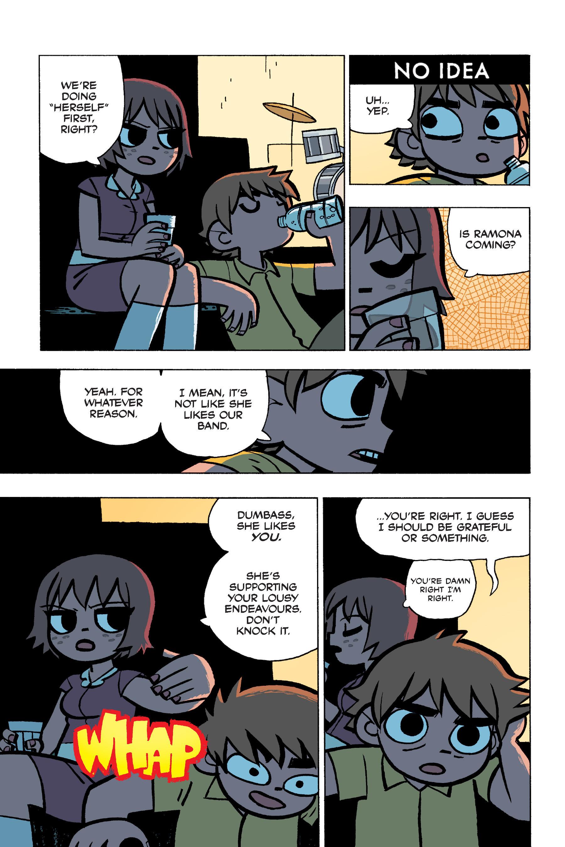 Read online Scott Pilgrim comic -  Issue #5 - 48