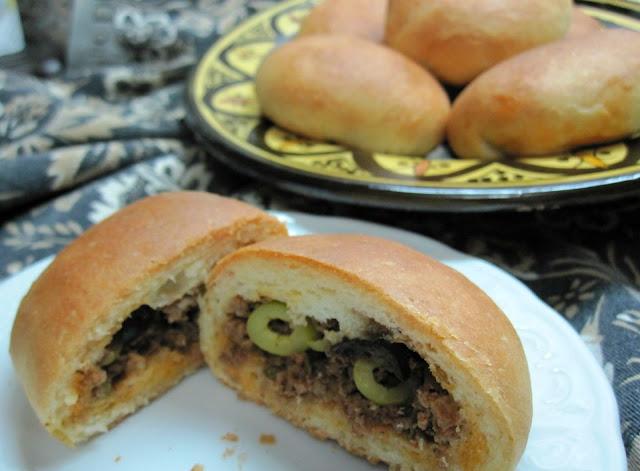 rouleaux farcis au kefta marocain