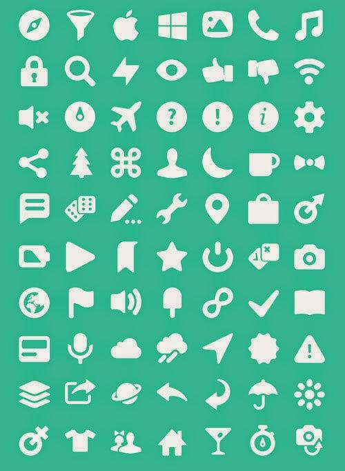 100 Pixel Perfect Icon Set