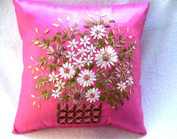 Pillow Cover Hand Embroidery Designs Theartoftheoccasion