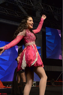 Sunny Leone Dancing on stage At Rogue Movie Audio Music Launch ~  062.JPG