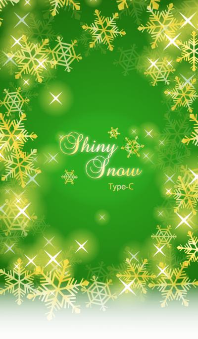 Shiny Snow Type-C Green & Gold