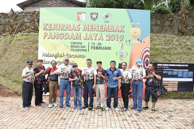 Kasum TNI Ikuti Kejurnas Menembak