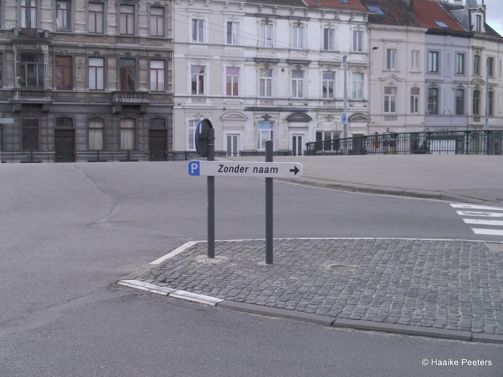 Parking zonder naam Gent (Le petit requin)