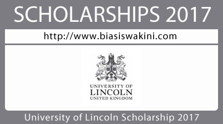 University Of Lincoln United Kingdom Scholarship 2017