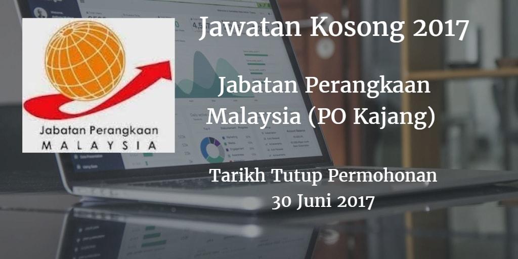 Jawatan Kosong Jabatan Perangkaan Malaysia (PO Kajang) 30 Juni 2017