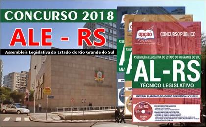 Concurso ALE-RS 2018