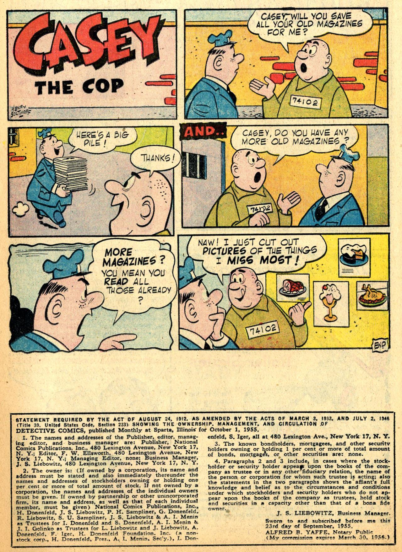 Detective Comics (1937) 228 Page 23