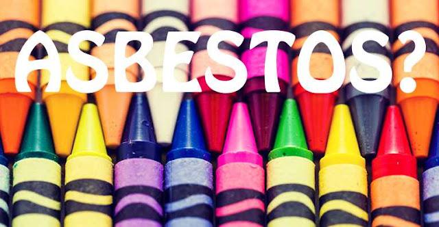 Asbestos in crayons