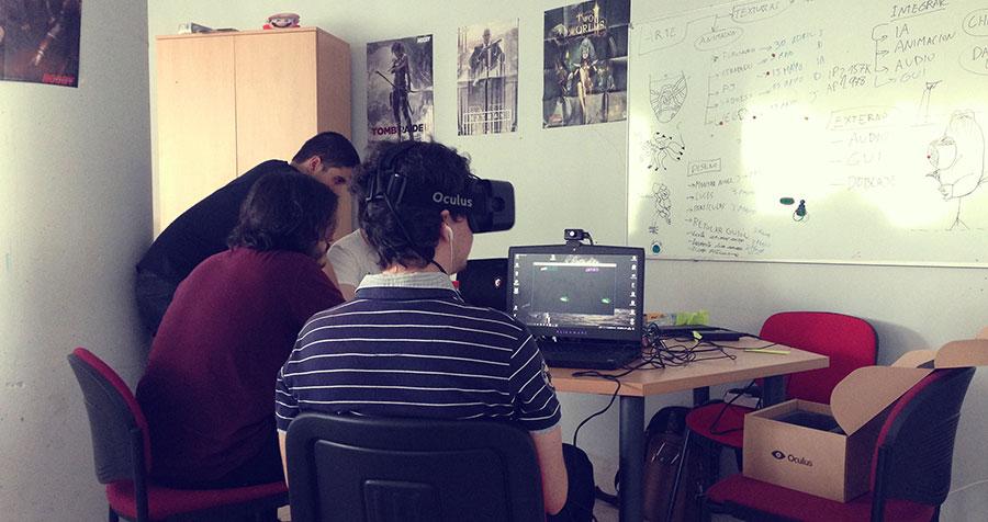 Testear un videojuego RV Oculus